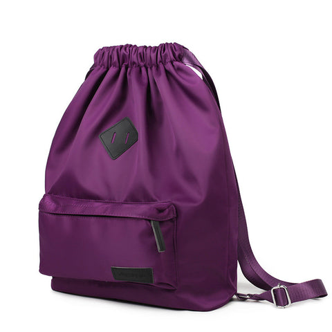 On Sale Back To School College Stylish Hot Deal Comfort Korean Nylon Simple Design Casual Backpack [4982888452]