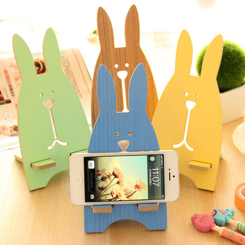 Gifts Innovative Lovely Cartoons Wooden Phone [9753175695]