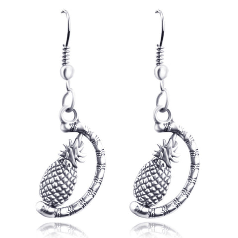 Stylish Strong Character Pineapple Earrings [9012879620]