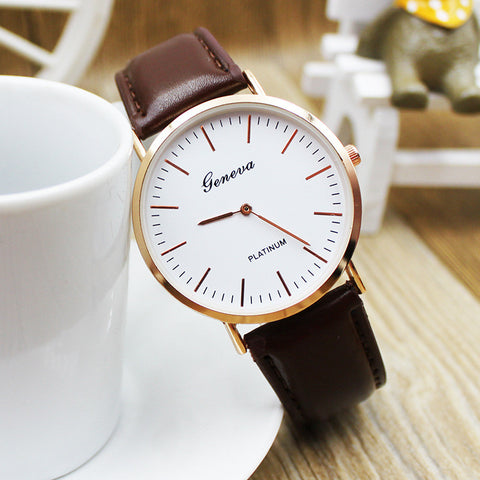 Watch Ladies Stylish Casual Men Watch [11425541199]