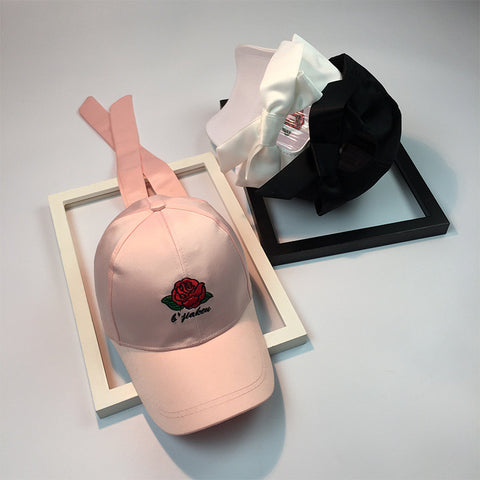 Summer Flower Rose Hats Cap [11727404175]