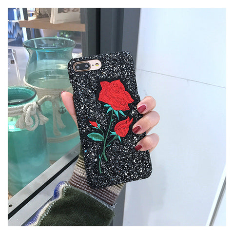 Iphone 6/6s Cute Stylish Innovative Embroidery Korean Phone Case [11727404111]
