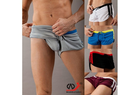 Fashion Men's Swimwear Swimming Trunks Sports Wear Sexy Short Beach Pants [9325222276]
