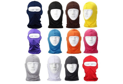 Classic Lycra Ski Face Mask cool premium Bike Bicycle CS Sports Football Balaclava Helmet [9324247748]