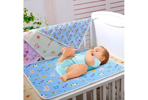Baby Infant Diaper Nappy Urine Mat Kid Waterproof Bedding Changing Cover Pad [9325387652]