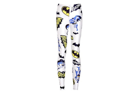 High Quality Girl Fashion Fitness Leggings Batman Print Wholesale Jeggings Slim Sports Pants Pencil Leggings Drop Shipping [9325217348]