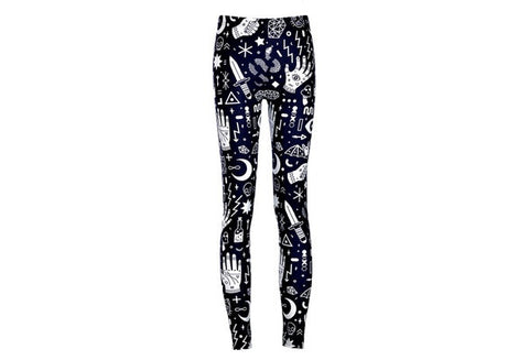 2016 New Arrival Fashion Women Legging Pattern Digital Print Fitness Leggings Sports Pants Punk Trousers Jeggings Drop Shipping [9325220868]