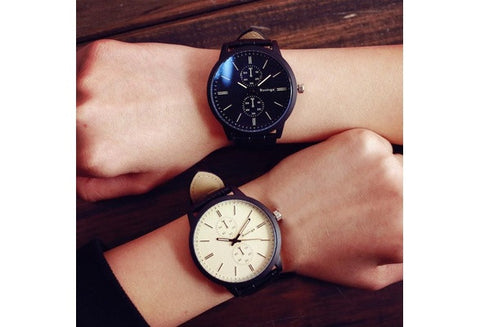 Male And Female Students Minimalist Fashion Personality Big Dial Watch Trendy Gifts [9325198788]