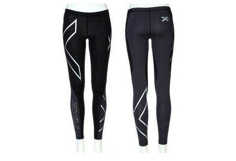 2016 Women's Fashion 2XU Professional Lycra Pants/ Trousers Compression Speed Dry Nylon Stretch Fitness Pants 4 Colors [9325859844]