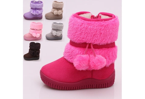 2016 fashion lovely children snow boots [9325366276]