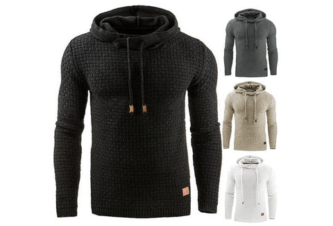 Men's Winter Hoodie Warm Hooded Sweatshirt Coat Jacket Outwear Sweater [9325862020]