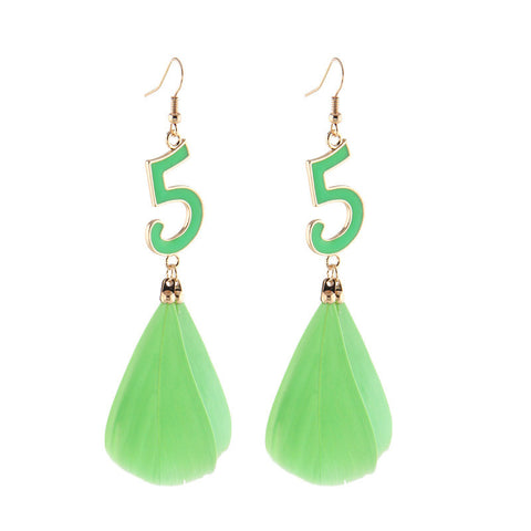 Bohemia Beach Vacation Handcrafts Earring Accessory Earrings [4915769860]