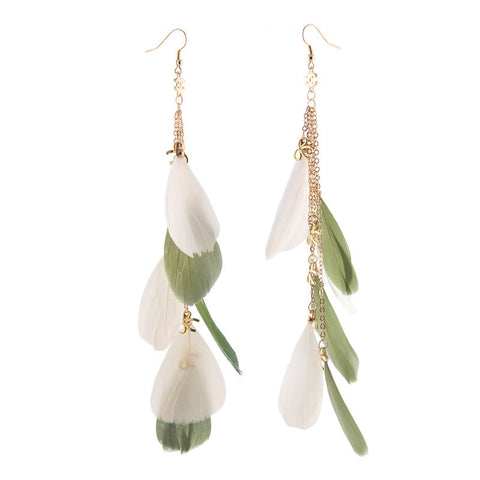 Punk Strong Character Earrings Bohemia Vacation Tassels Earring Prom Dress [4915768516]