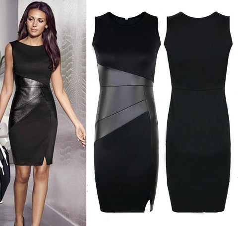 Black Bodycon Dress [6259200964]