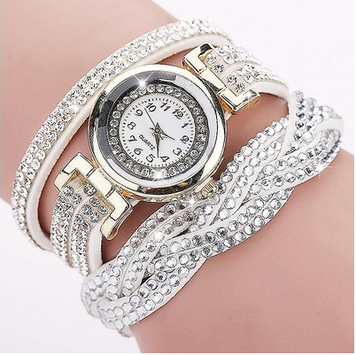 1pc Rhinestone Bracelet Women Watch Quartz Wristwatch Relogio Feminino Montre Femme Reloj Mujer [6269794244]