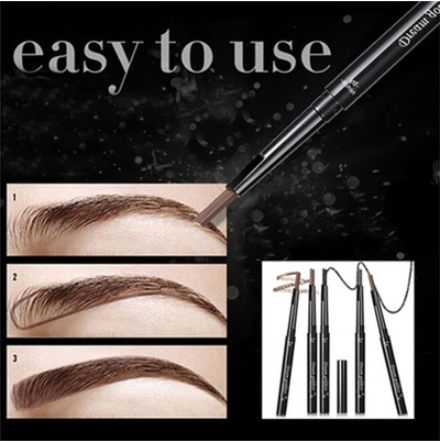Waterproof Non-blooming Knife Box Set Eyebrow Pencil [6269810052]