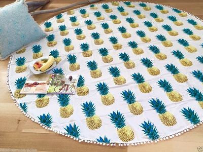 Beach Shawl Wrap Pineapple Dress Mat [9012882180]
