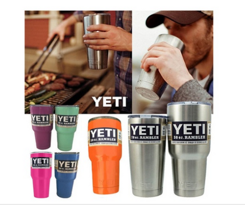 YETI Tumbler Stainless Steel Cars Beer Large Capacity Mug [9646774287]