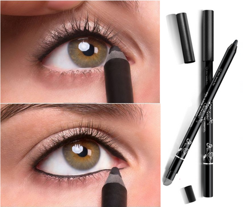 Women Waterproof Eye Liner Pencil Eye Shadow Pen Persistent Eyeliner Make Up Beauty Cosmetics [9736201871]