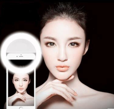 Selfie LED Light for Cellphone Photography Camera Video-Black [11727418767]