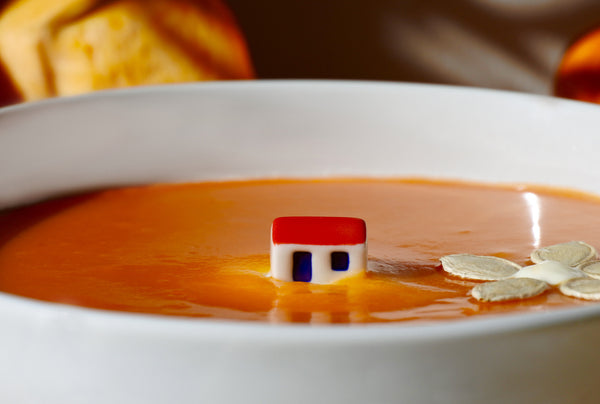 Wonderful pumpkin soup bowl for children