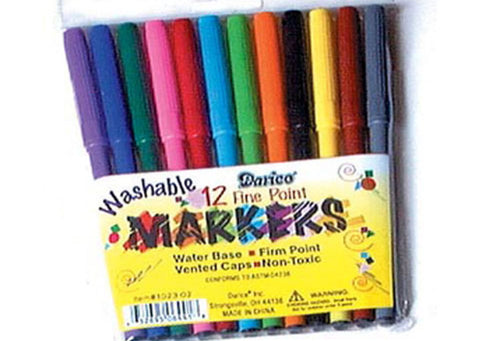 Washable Markers -  - 1