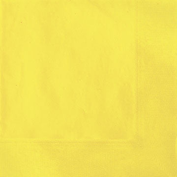 Lunch Napkin- Soft Yellow