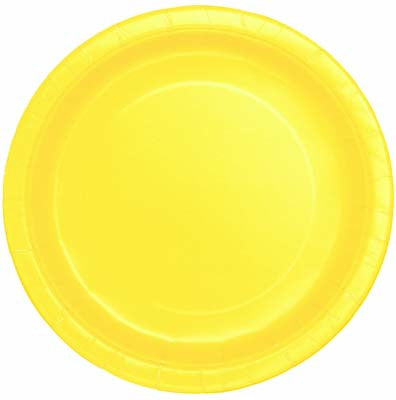 Lunch Plate- Soft Yellow