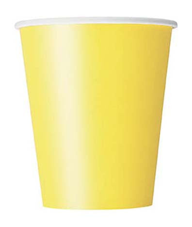 Party Cup- Soft Yellow