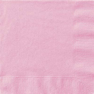 Lunch Napkin- Lt. Pink