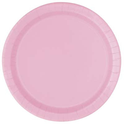 Lunch Plate- Lt. Pink