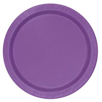 Lunch Plate- Purple