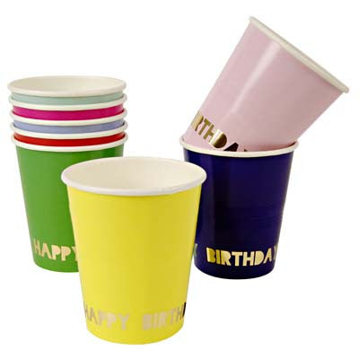 Party Cup- Happy Birthday Assorted