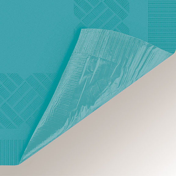 Teal Paper Tablecloth -  - 2