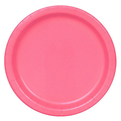 Lunch Plate- Hot Pink