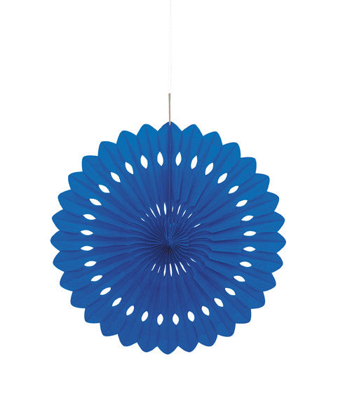 Tissue Fans- Royal Blue