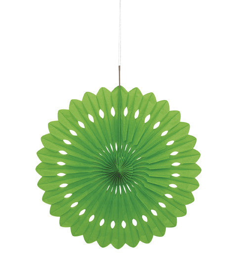 Tissue Fans- Lime Green
