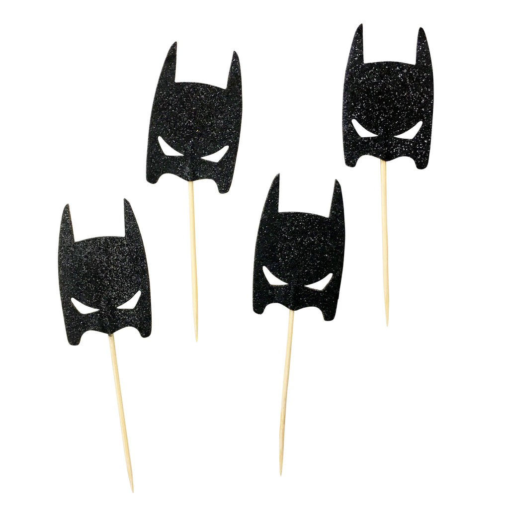 Batman Glitter Picks