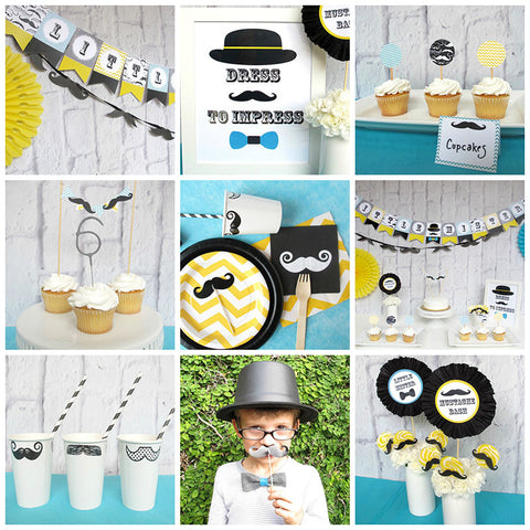 Mustache Bash Party Pack