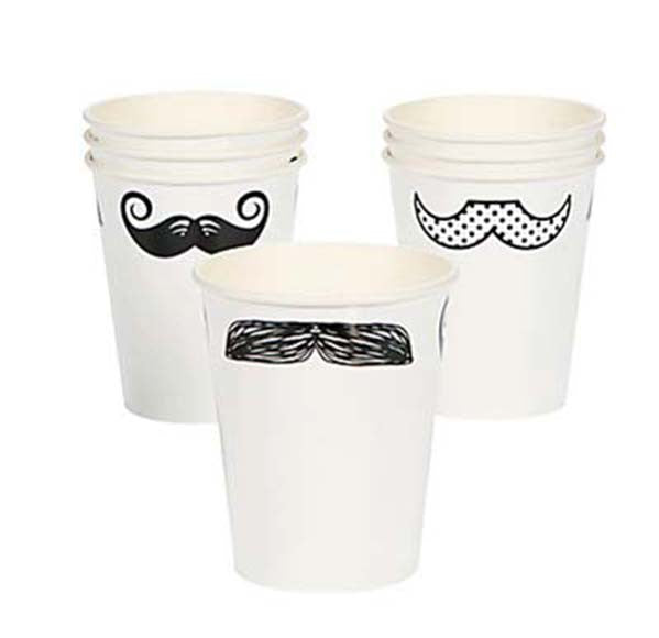 Mustache Party Cup