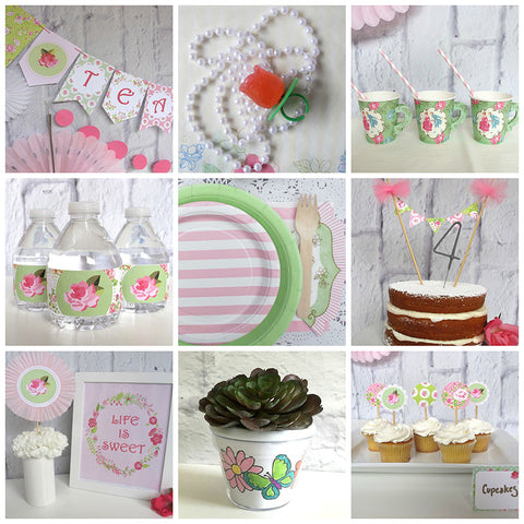 Little Miss Tea Party Pack