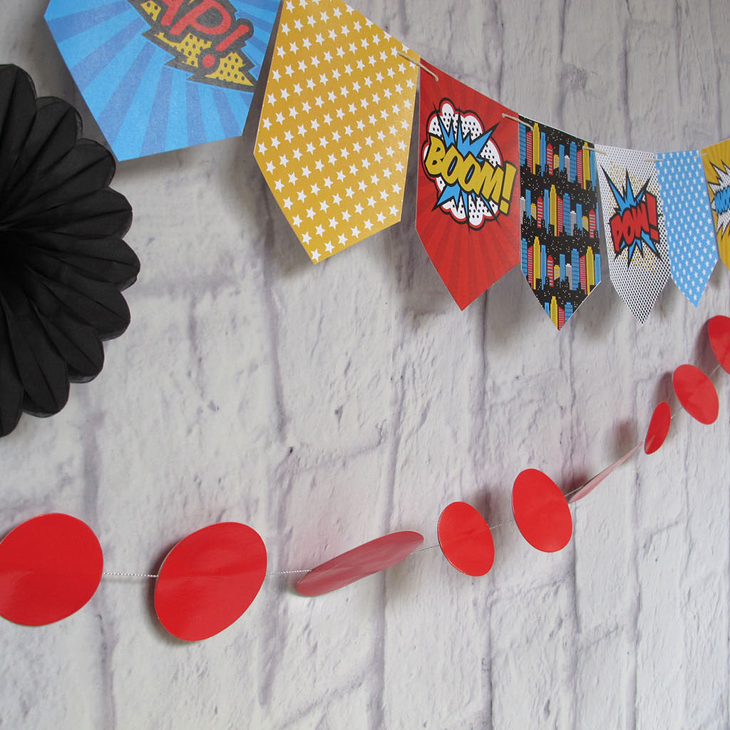 Super Hero Party Printable