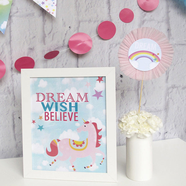 Dreamer/ Unicorn Printable
