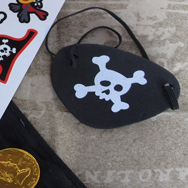 Skull Eye Patch- Pack 3