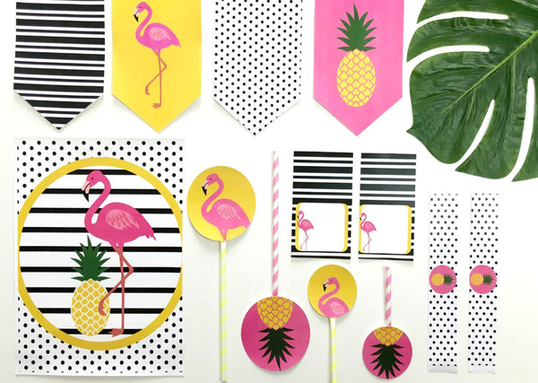Flamingle Party Printable -  - 3
