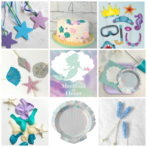 Mermaid at Heart Party Pack