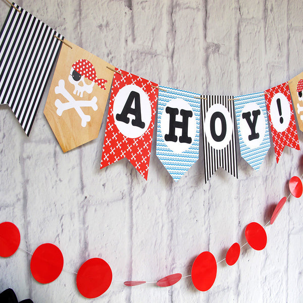 Pirate Party Printable