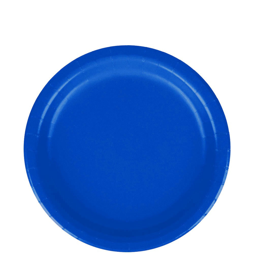 Lunch Plate- Royal Blue