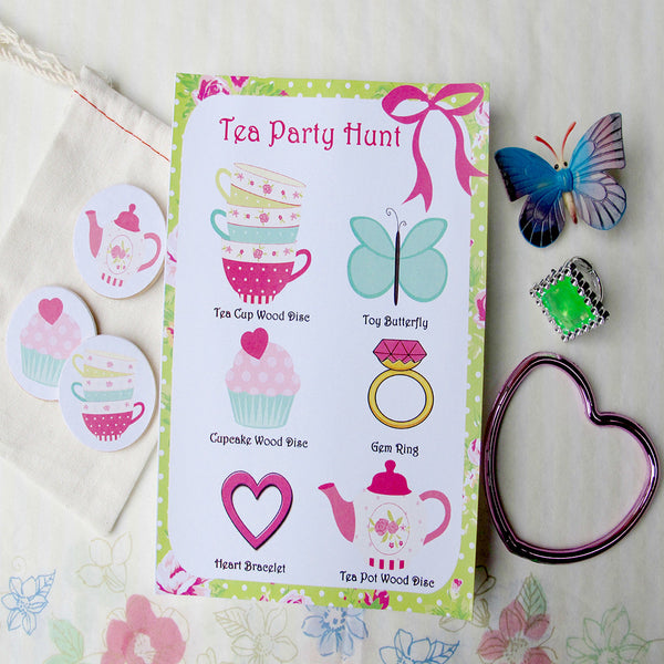 Tea Party Hunt- Pack 8