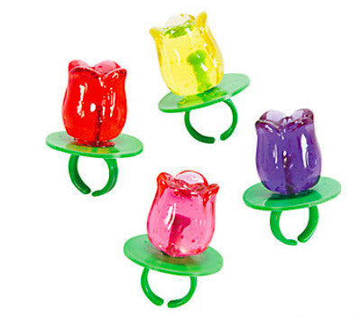 Tulip Ring Pops- 12pc -